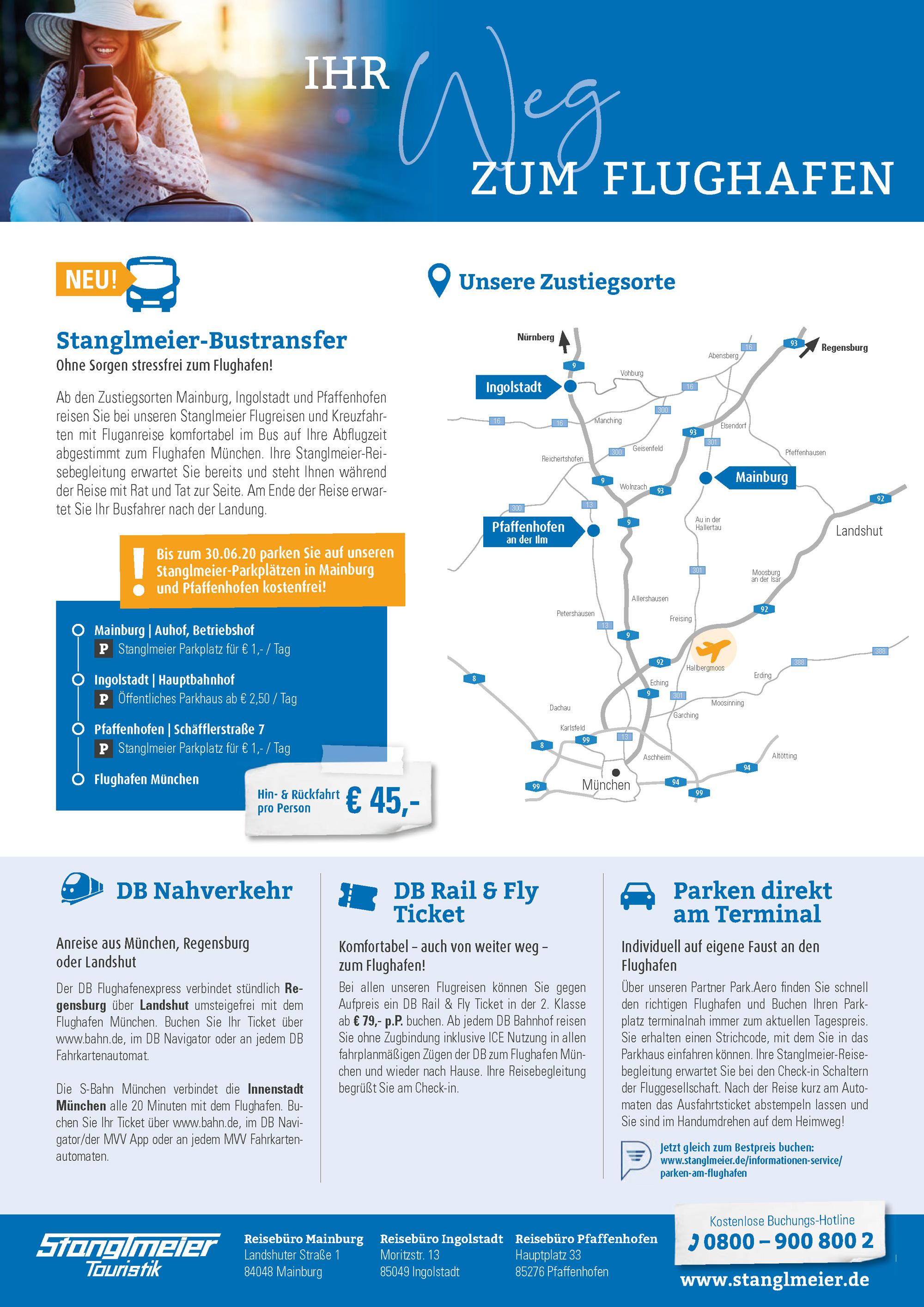 Flughafentransfer Stanglmeier