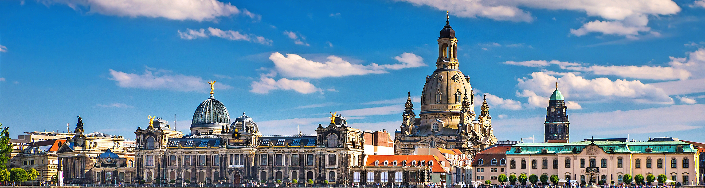 The ancient city of Dresden, Germany.Europe.