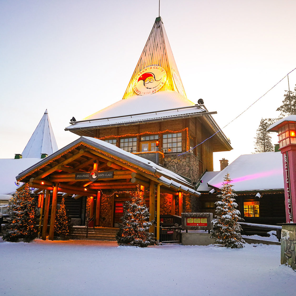 Finnisch Lappland, Weihnachtsmanndorf