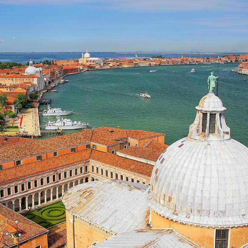 Blick über Venedig - Insidertipps Venedig